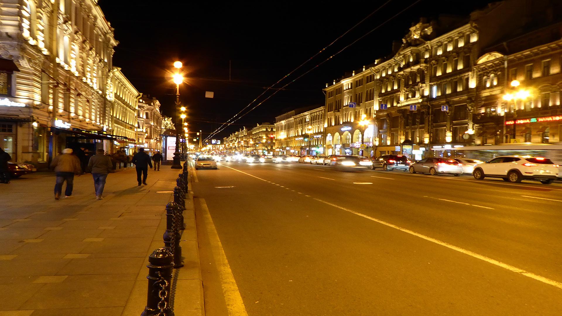 san pietroburgo-russia-nevskij