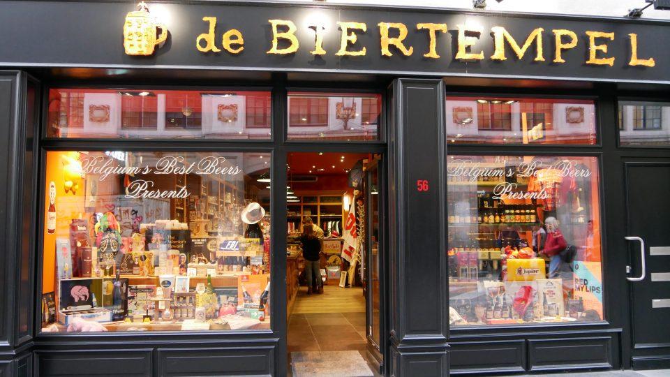 Bruxelles - negozio caratteristico