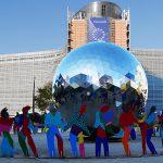 """Bruxelles – """"Atomium e Manneken Pis""""…            simboli indiscussi della città."""