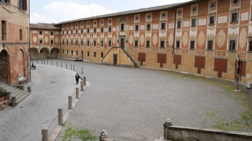San Miniato e Certaldo - Piazza del Seminario di San Miniato