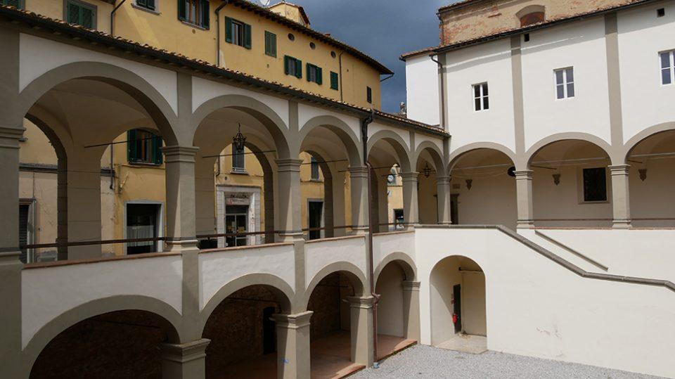 san Miniato e certaldo - Chiostro di San Domenico in san Miniato.