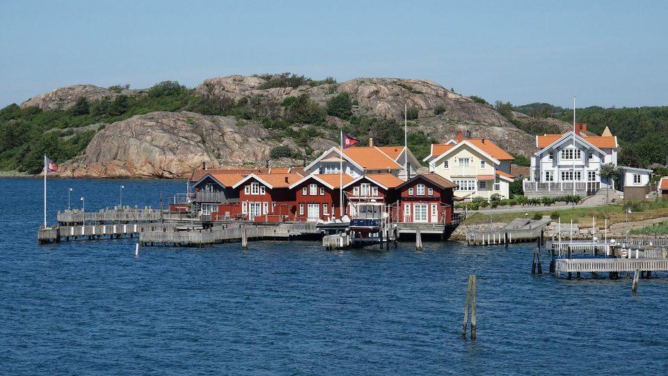 Fjallbacka, piccolo villaggio di pescatori nella costa occidentale svedese, che fa da sfondo ai romanzi gialli di Camilla Lackberg