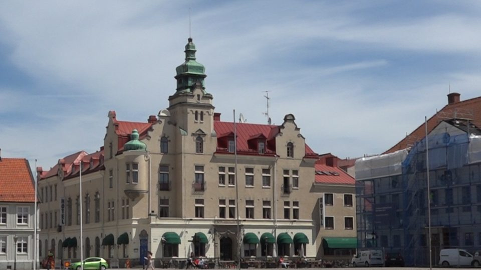 Granna e Kalmar. Vecchio municipio oggi trasformato in albergo.