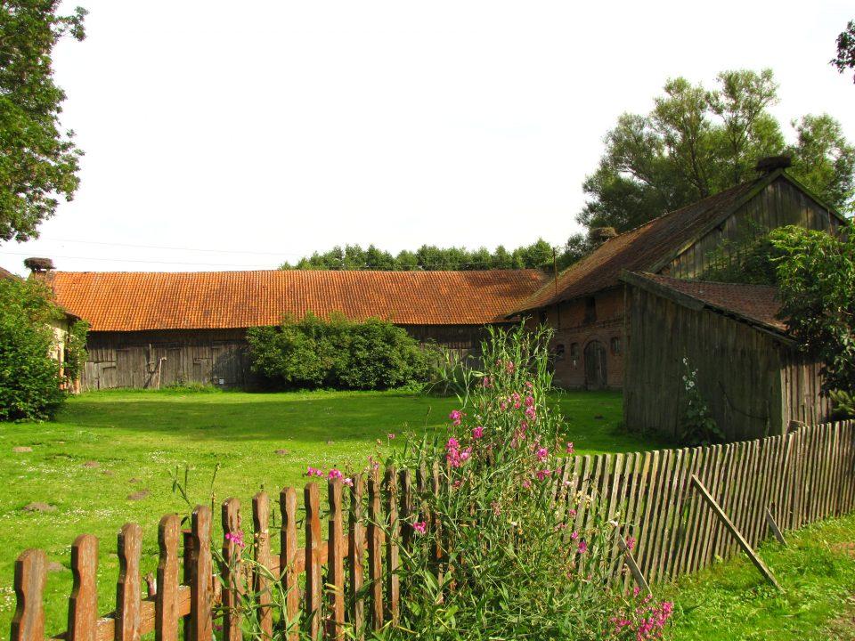 Zywkowo - Particolare di una fattoria del villaggio
