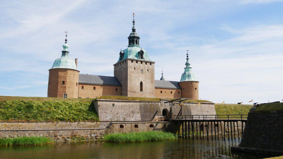 Granna e Kalmar. La fortezza o meglio il castello che sorge nei pressi del porto.