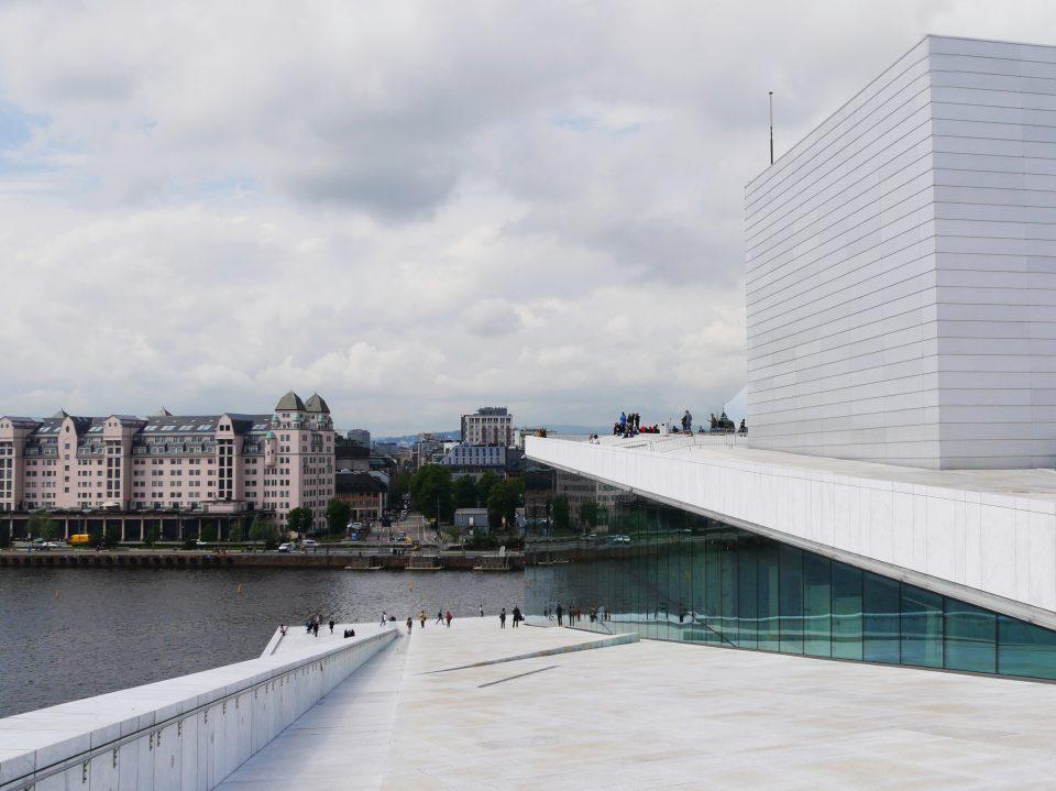 Oslo. Palazzo dell'Opera e del Balletto.