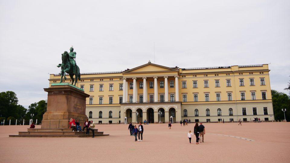 Oslo. Il palazzo reale.