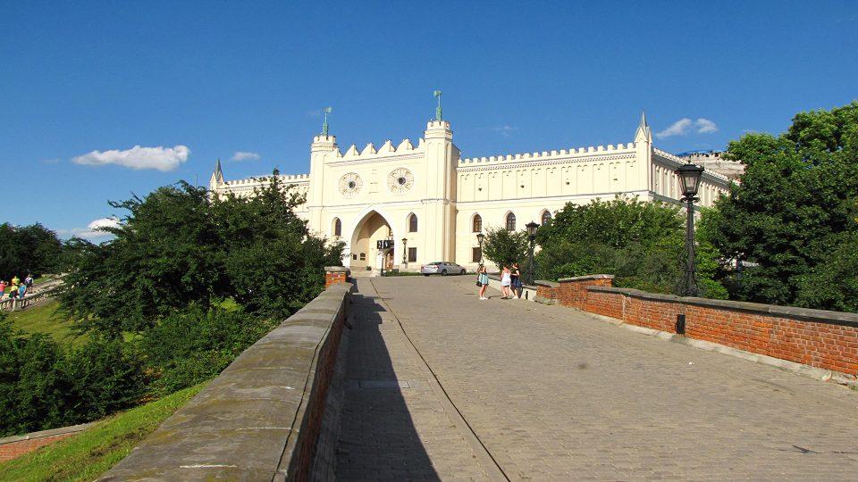 Lublino-Il Castello, divenuto il simbolo della città.