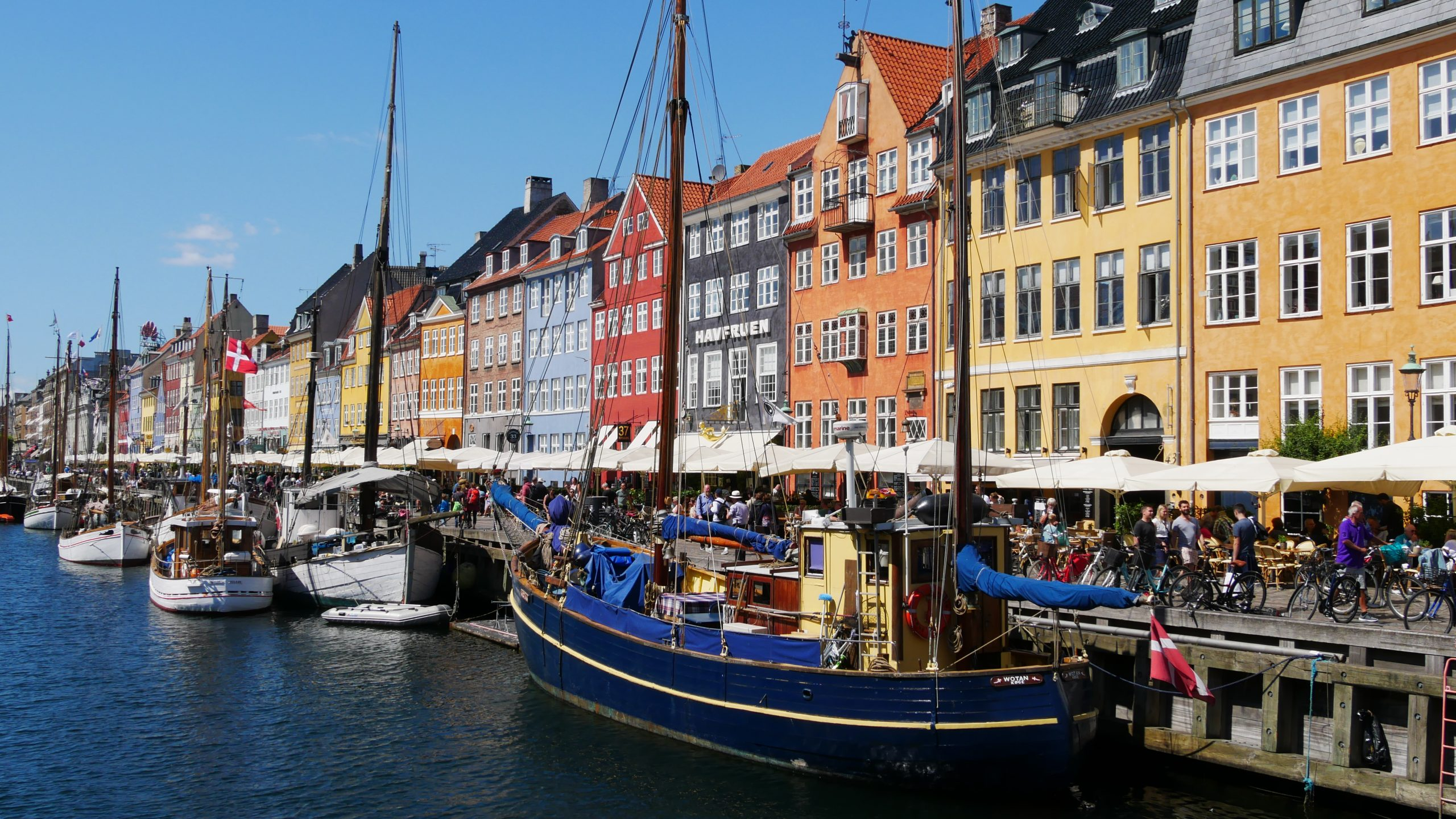 Copenaghen. Canale Nyhavn.