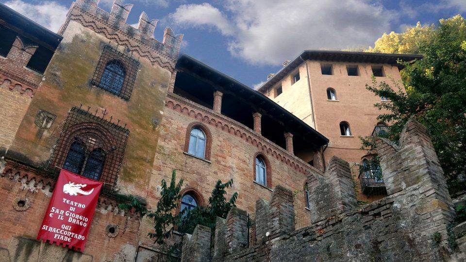 Castellarquato. Un paese iscritto nelle'elenco dei borghi più belli d'italia.