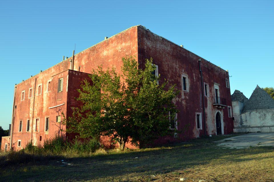 Alberobello. La Casa Rossa, ex campo di concentramento.