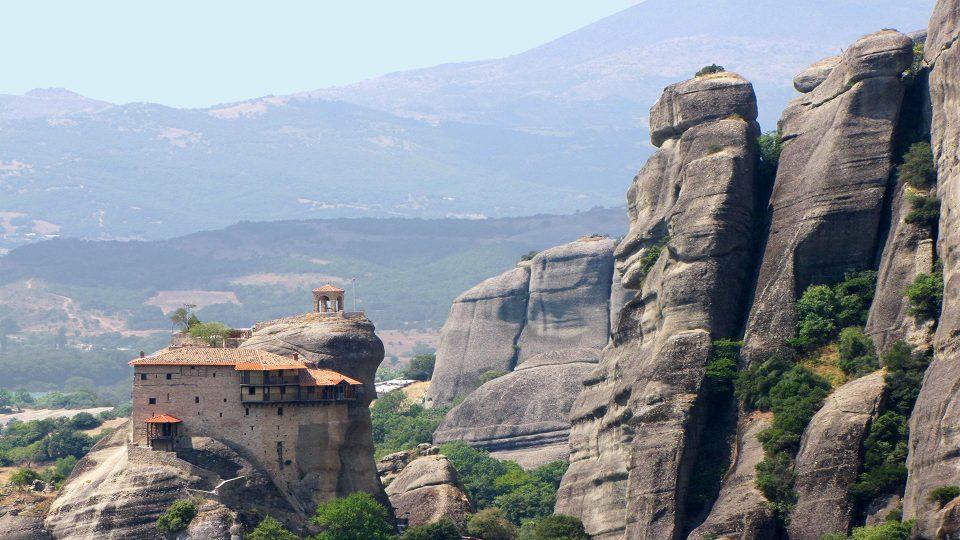 Meteore. Agios Nikolaos, altro imperdibile monastero.