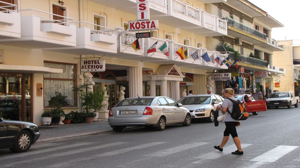 Meteore. Kalambaka, hotel Kosta Famissi