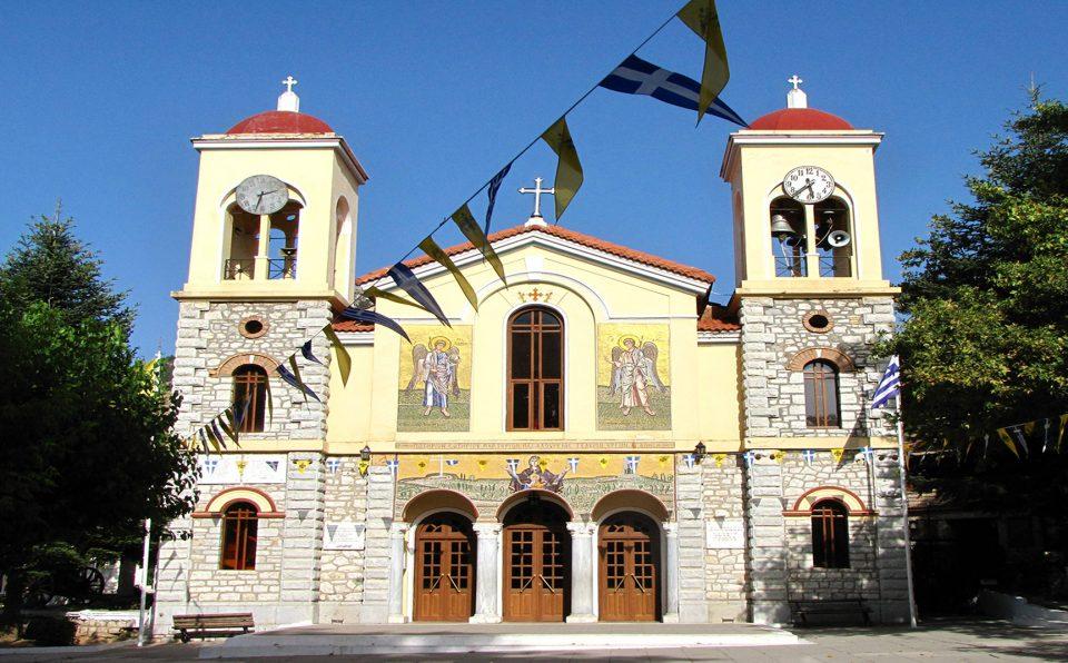 Kalavryta. Chiesa del paese.
