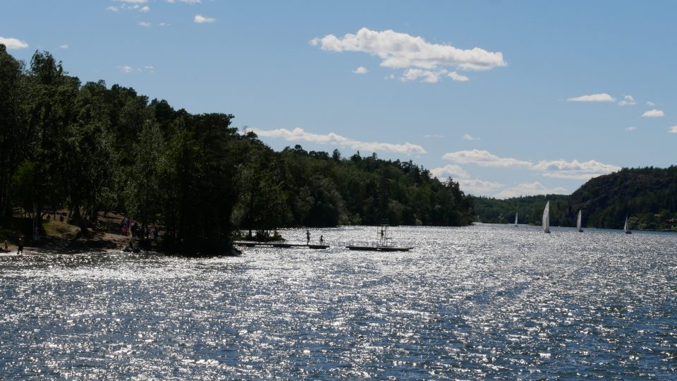Stoccolma. Lago Malaren