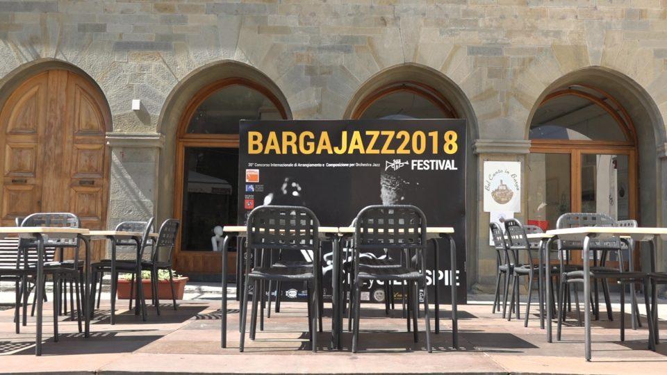 Barga. Piazza dove si svolge il Brga Jazz