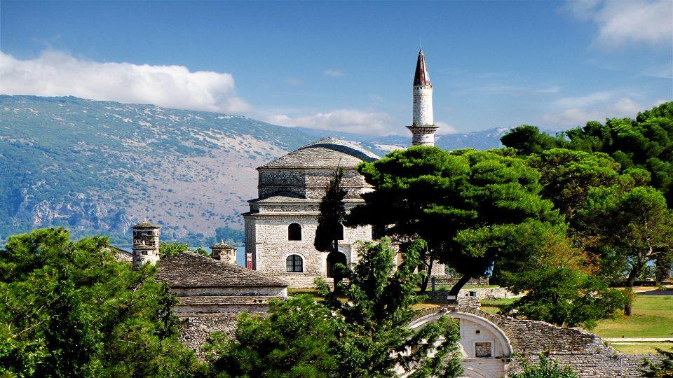 Ioannina. La Mosche di Aslan Pascià.