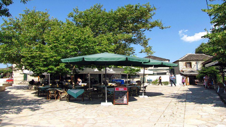 Ioannina. Isola di nessa appena fuori dal porticcioli di sbarco.