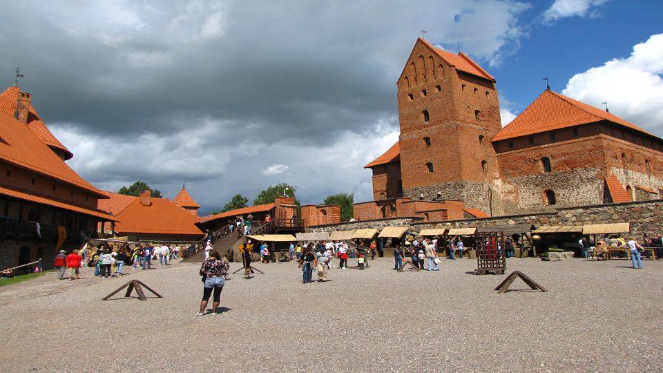 Trakai. Interno del castello