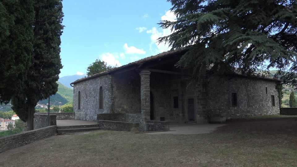Barga. Palazzo pretorio nella parte settentrionale dell'Arringo.