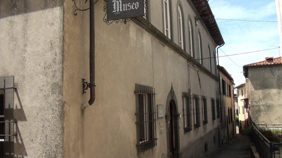 Coreglia. Museo delle figurina sito nella parte alta del borgo.
