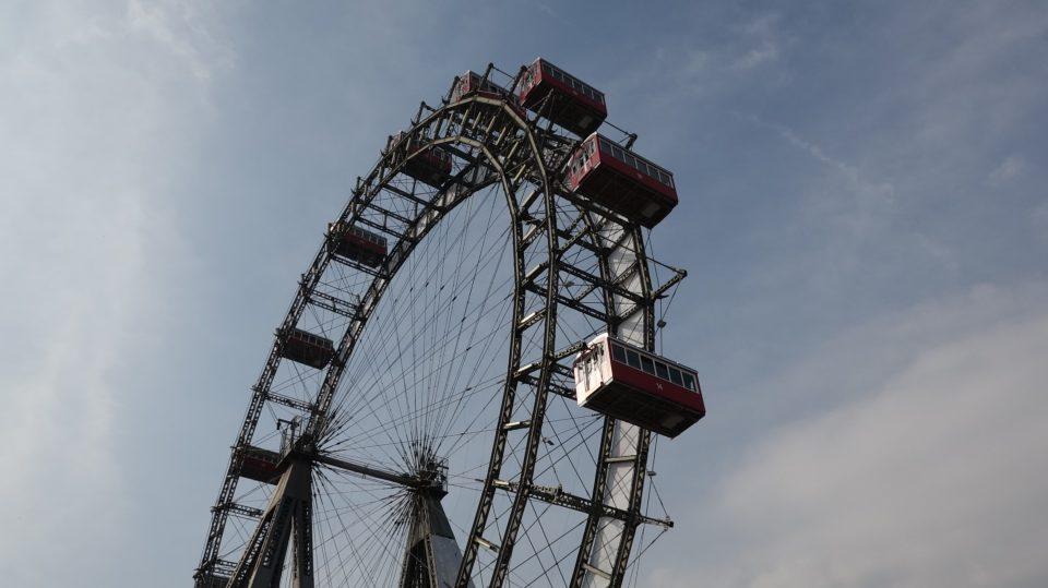 Vienna. Riesenrad - La Ruota Panoramica del Prater.