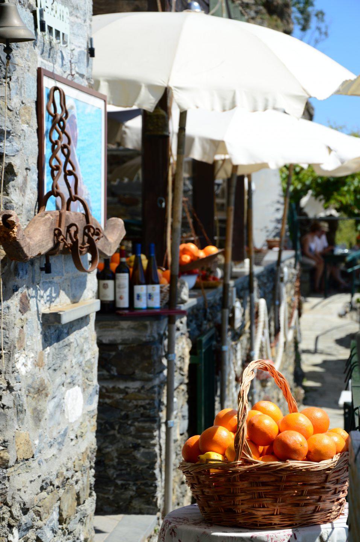 Vernazza. Un locale tipico del borgo.