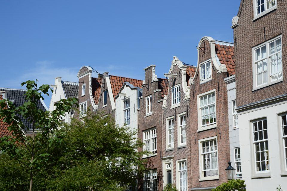 Amsterdam. Tipiche case d'epoca.