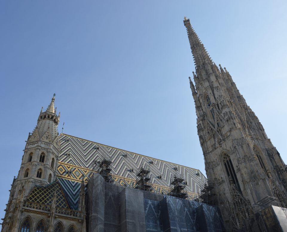 Vienna. cattedrale di santo Stefano