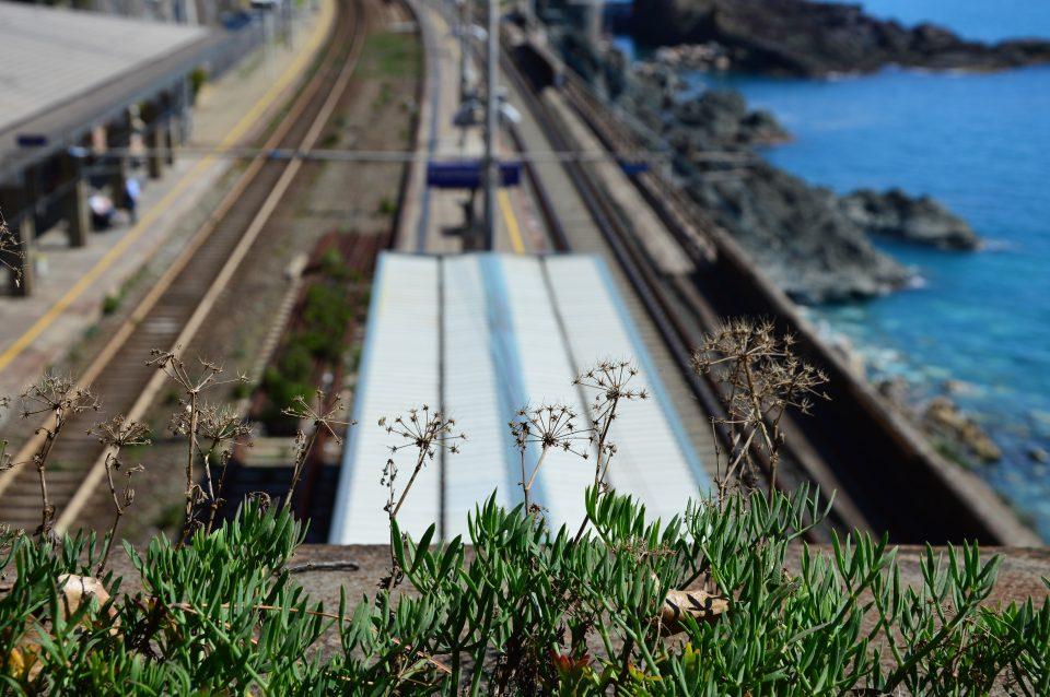 Framura. Stazione ferroviaria di Anzo.