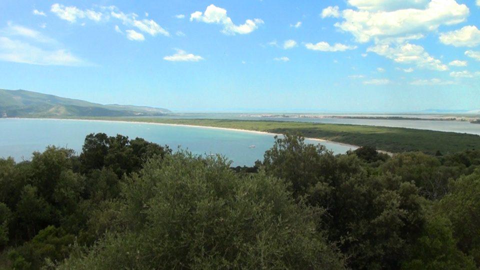 Cosa. Lagune di Orbetello.