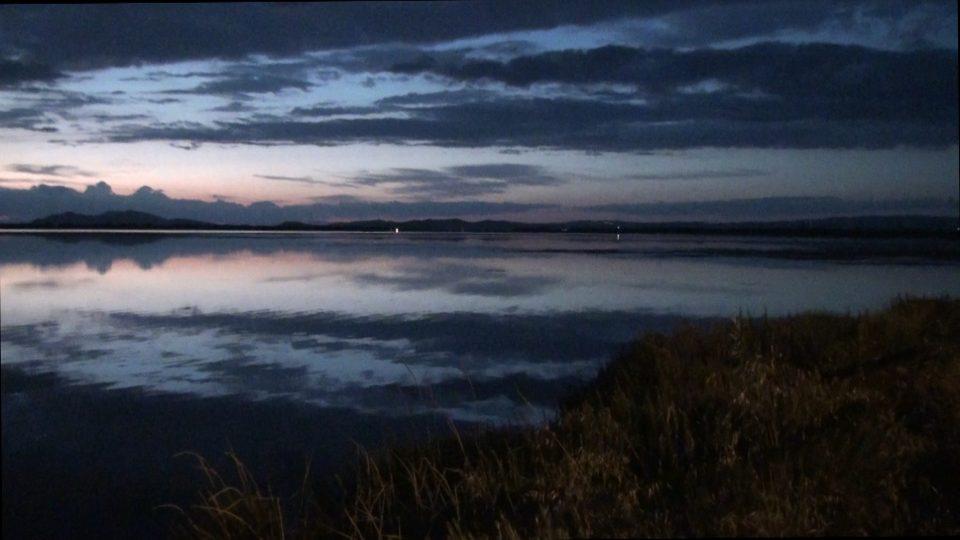 Orbetello. La Laguna al tramonto.