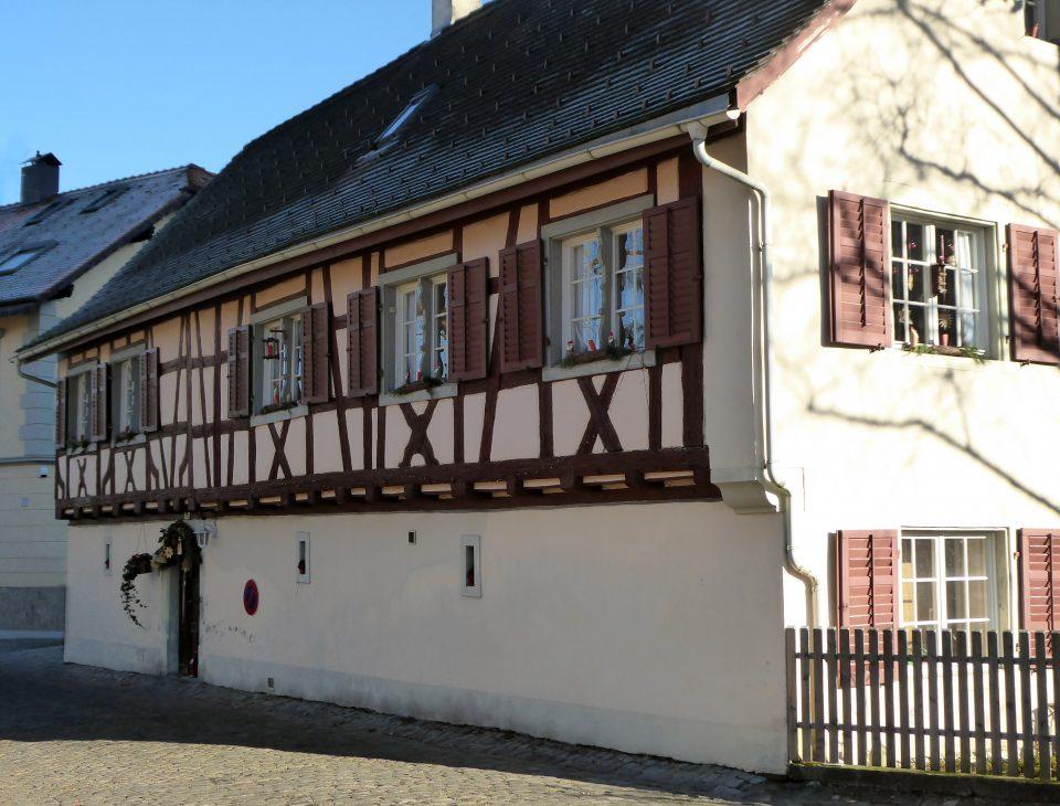 Bregenz. Tipica abitazione nella parte alta della città