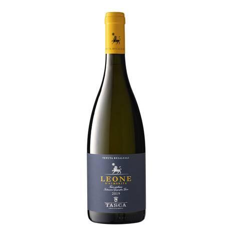 Noto. Immagine di una bottiglia Vino Leone d'Almerita