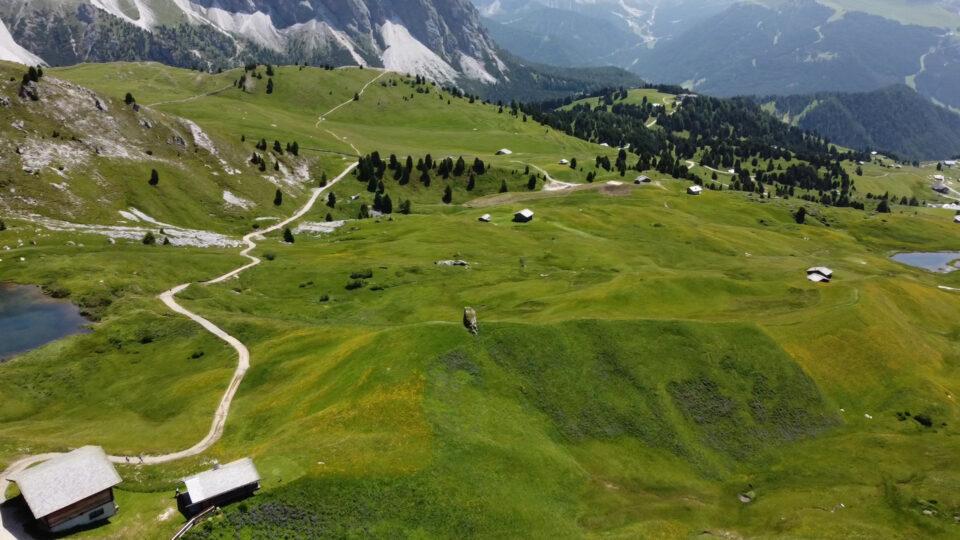 Monte Secede vista dal drone Mavic Mini 2.
